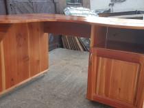 Birou din lemn masiv (larice)