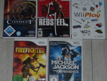 Joc WII Michael Jackson 35 lei,Firefighter 30,Redsteel