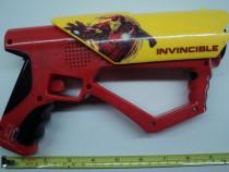 Jucarie pistol electric Invincible (vintage)