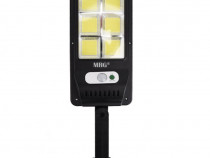 Lampa solara stradala M-6035, 120 LED, Incarcare solara,C526