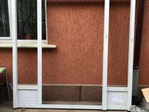 Termopane PVC profil VEKA + rulouri