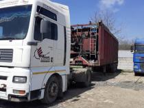 Remorca specializata transport gunoi