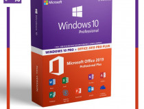 Licenta windows 10 pro + office 2019 pro plus + avast premiu