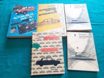 Lot 5 cărți auto * automobilul de la a la z* echipamentul el