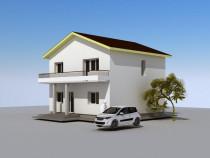 Vila în Lumină P+1 Etaj construcții utila 160mp Teren 275mp