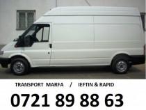Transport Marfa -1 cursa GRATIS Pensionari