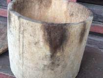 Vas de lemn pentru faină