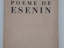 Carte veche george lesnea poeme de esenin