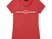 Tricou Dama Oe Mercedes-Benz Swarovski Motiv Grila Radiator