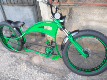 Bicicleta chopper cruiser custom