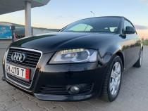 Audi a3 cabrio 1,8 tfsi 160cp an 04/2008 xenon piele navi