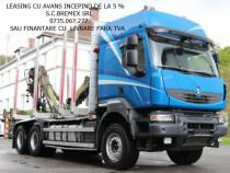 Camion forestier6x4 RENAULT KERAX+finantare livrare fara TVA