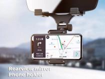 Suport Auto Oglinda Retrovizoare Pentru Telefon Extensibil N