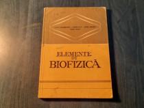 Elemente de biofizica Elena Dragomirescu