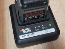 Acumulator si incarcator black & decker 36v lithium