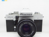 Praktica MTL 3 cu obiectiv Pentacon 50mm f/1.8 montura M42