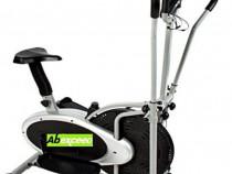 Bicicleta eliptica Abexceed 2 în 1 cross trainer
