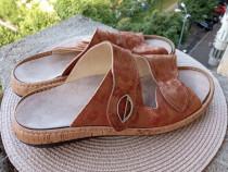 Slapi/Sandale piele, mar 40 (25 cm) made in Germany