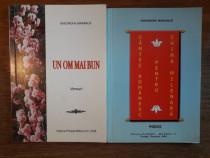 Lot 2 carti de Gheorghe Marinica cu autograf / R6P1F