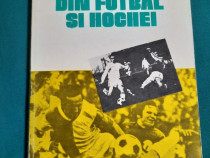 Amintiri din fotbal și hochei/ mihai flamaropol/ dedicație ș
