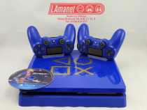 Playstation 4 PS4 Slim 500GB Blue 2 Manete 1 Joc Fifa21