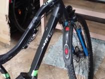 Bicicletă electrică 36v,două motoare