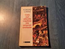 Cele 8 pacate capitale ale omenirii civilizate Konrad Lorenz