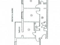 Apartament 3 camere str. Independenței