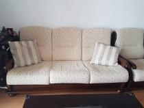 Canapea extensibila 3 locuri+2 fotolii