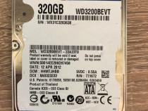 """Hdd Hard Drive Disk 2,5"""" WD WD3200BEVT 320GB SATA 3Gb/s pt L"""