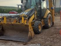 Inchiriez buldoexcavator cu furci