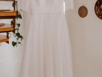 Rochie de mireasă din dantelă
