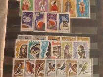 Clasor cu serii de timbre