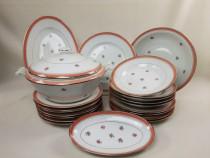 Serviciu vintage de masă (21 piese) - Art Deco - Porțelan