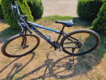 Bicicleta Carpat C2970C Negru/Albastru