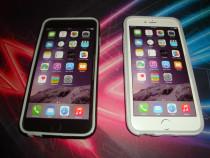 Bumper husa telefon protectie laterala iphone 6 6s + folie