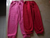 Pantaloni de trening pentru fete de 5 - 6 ani