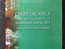 Chimie organica teste admitere in invatamantul superior 2014