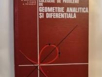 Culegere geometrie analitica si diferentiala, M. Bercovici