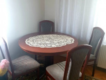 Masa extensibilă + 4 scaune
