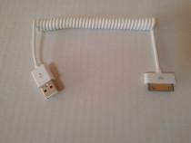 Cablu incarcare, alimentare usb iPad 2 iPod iPhone 4S 4G 3G