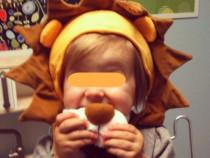 Masca leu pentru copii intre 2 si 11 ani - noua -