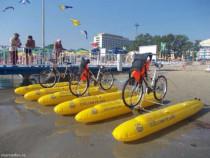 Afacere ciclism pe apa