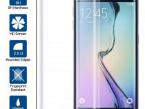 Folie Sticla Samsung Galaxy S6 Edge Full Cover Clear