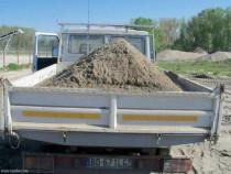 Transportam cu camionete Iveco basculabile de 3-5t.diverse