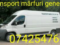 Transport marfa mobila mutari,etc