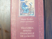 Talcuirea Sfintei Evanghelii de la Matei - Sf. Teofilact (20
