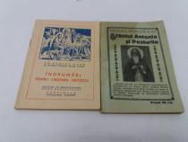 2 cărți religiaose: sf. antonie și posturlie*îndrumări pt.