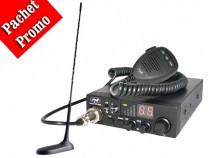 Pachet statie radio auto CB PNI Escort HP 8000 ASQ +Antena C