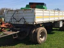 Remorca Cardi, basculabilă 24 ton, roți duble, import Italia
